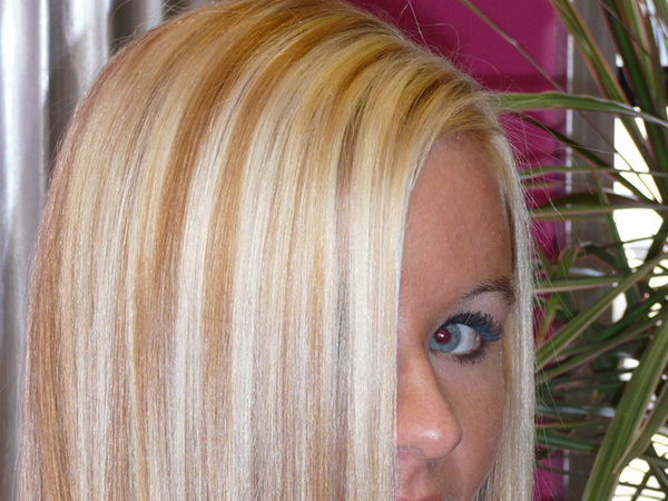 Lush Blonde Hair Color