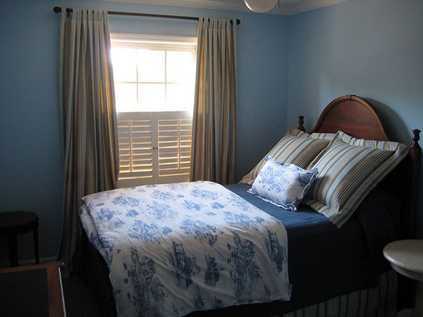 25 Encouraging Blue Bedroom Ideas SloDive