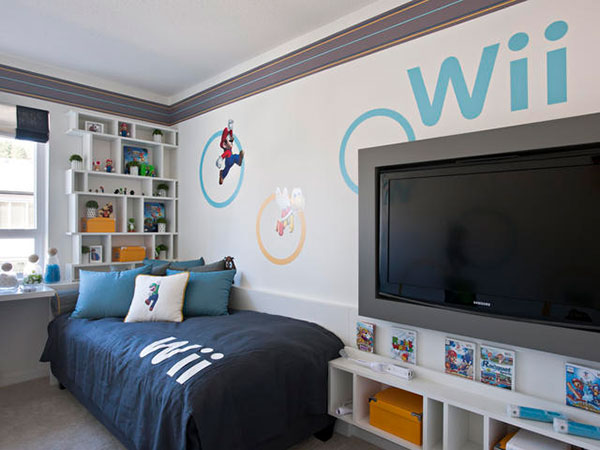 wii boy bedroom - Decorating Ideas For Boys Bedroom