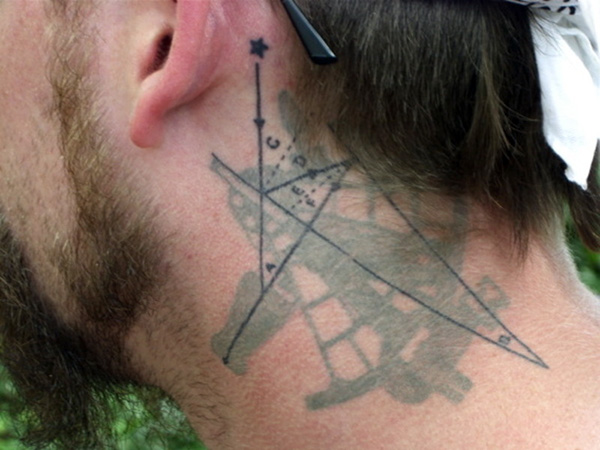 celestial navigation 25 Attractive Celestial Tattoos