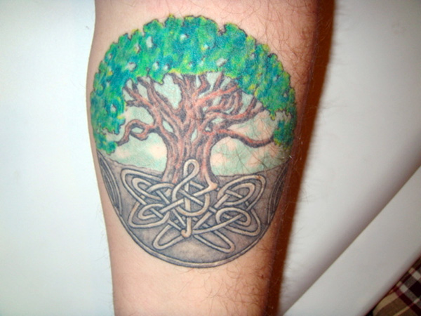 colorful tree of life 25 Terrific Celtic Tree of Life Tattoo Ideas