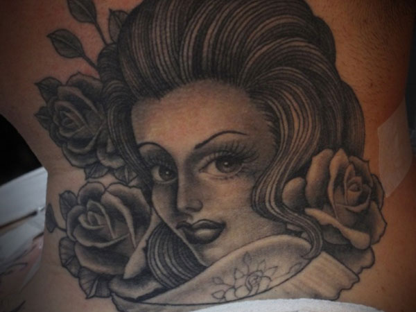 neck tattoo 25 Hot Cholo Tattoos