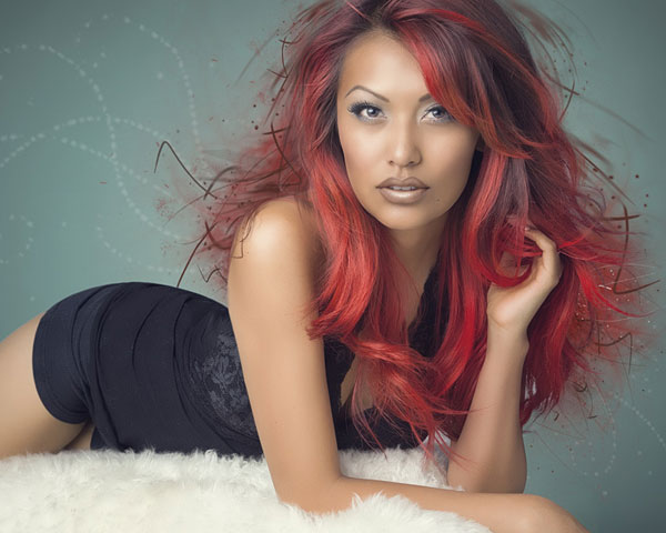 red hot 25 Cool Hair Color Ideas You Should Check Right Now