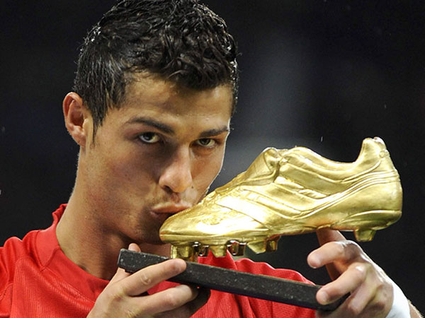 Cristiano Ronaldo With Golden boot