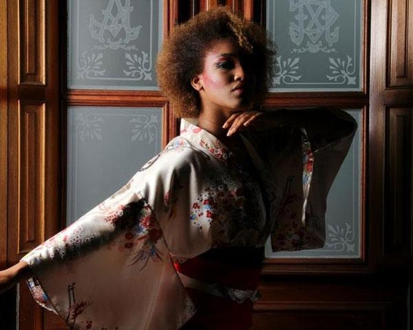 Kimono And Curls