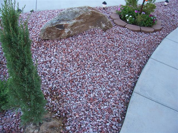 Pink And Grey Pebbles