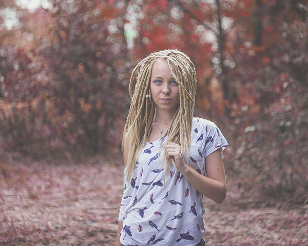 blonde dread 25 Mind Blowing Dreadlock Hairstyles