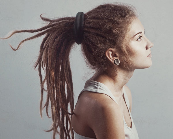 Admirable 25 Mind Blowing Dreadlock Hairstyles Slodive Hairstyles For Women Draintrainus