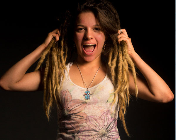 Dreadlocks Dyed