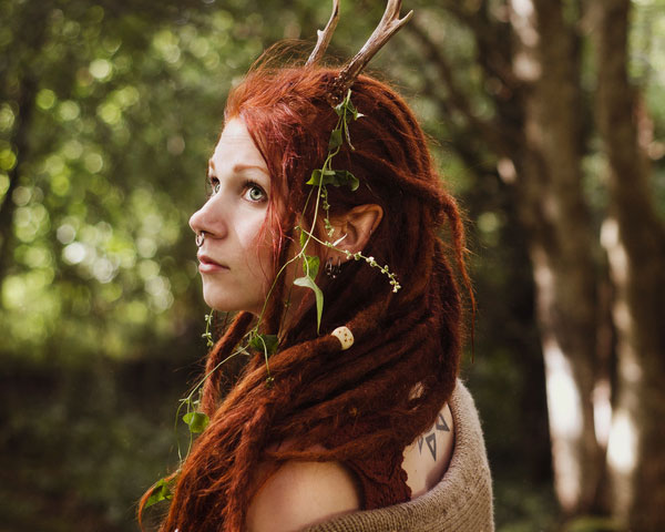 Wild Flame Dreadlocks