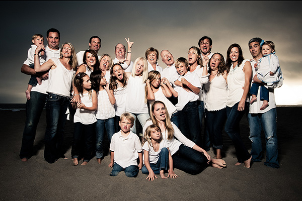 Quirky Family Photo Ideas