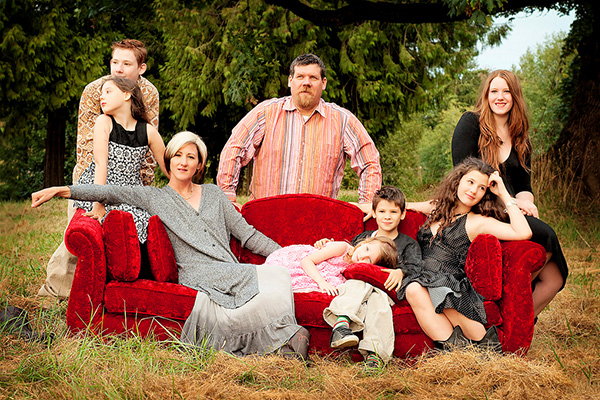 Quirky Family Portrait Ideas