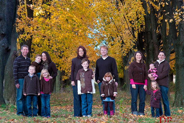 The Fall Family Portrait