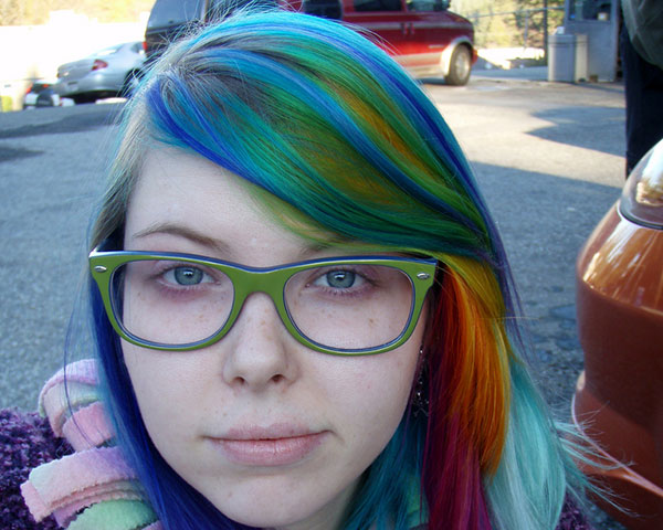 colorfull 25 Unbelievable Fun Hair Color Ideas