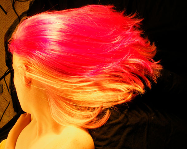 pinkbrawn 25 Unbelievable Fun Hair Color Ideas