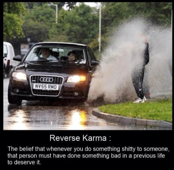 reverse karma 30 Oustanding Funny Caption Pictures