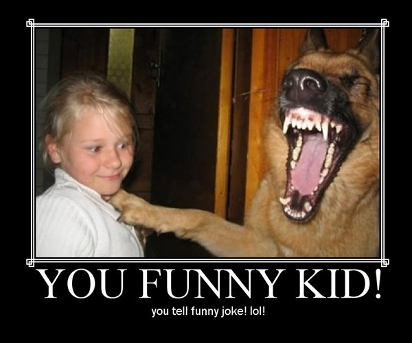 funny kid 25 Funny Dog Pictures With Captions