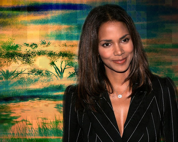 halle berry 25 Fascinating Hair Color For Black Women