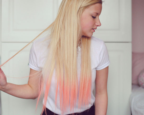 Blonde And Shell Pink