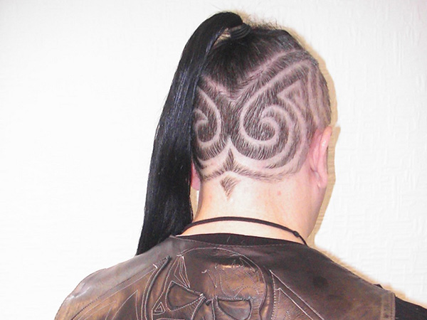 Abstractions Hair Tattoo
