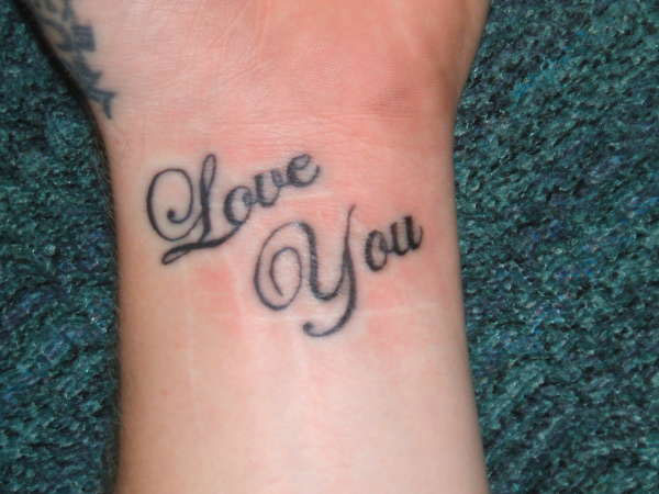 lovesecrifice 25 Awesome I Love You Tattoos