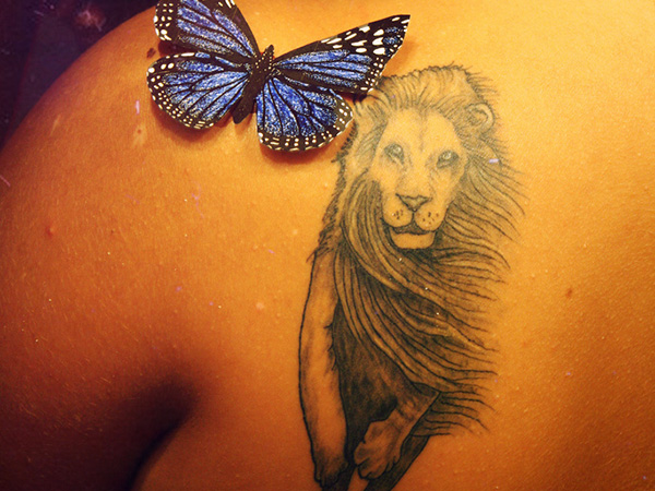 leo tattoos 25 Arresting Leo Tattoos For Women