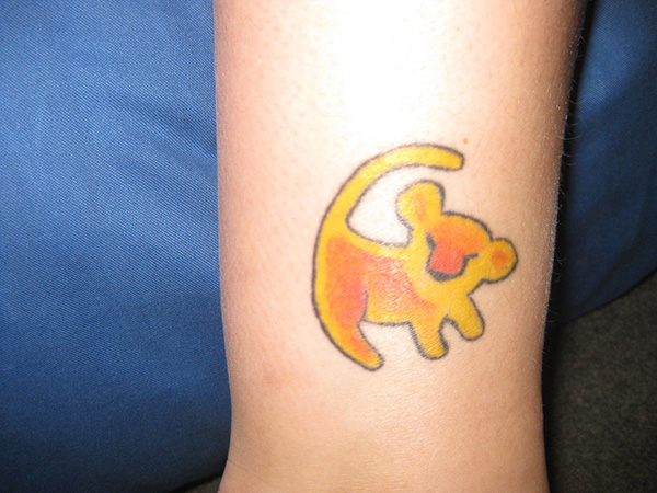 little simba 25 Astonishing Lion King Tattoo Ideas