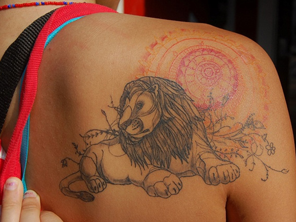 my tattoo 25 Astonishing Lion King Tattoo Ideas