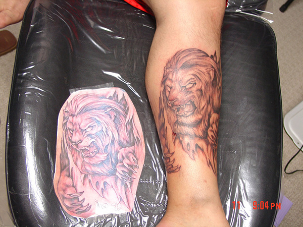 nice lion king tattoo 25 Astonishing Lion King Tattoo Ideas