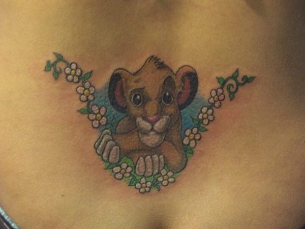 simba tattoo pic 25 Astonishing Lion King Tattoo Ideas
