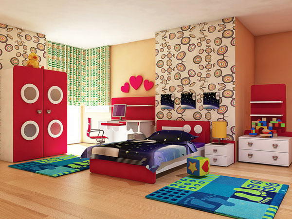 Colors For a Little Girl's Room