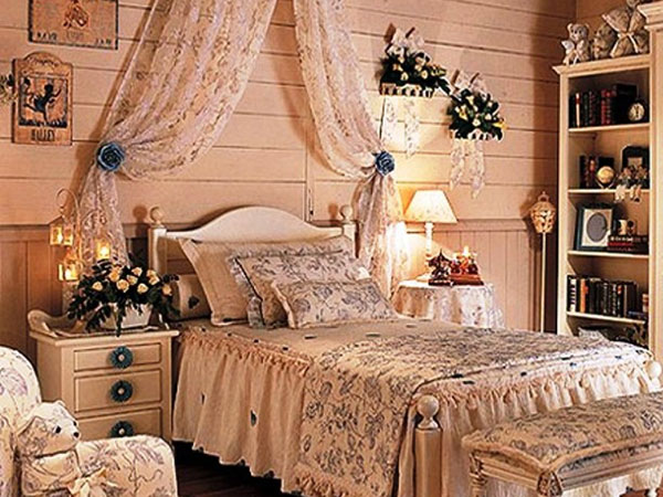 Cozy Bedroom Vintage Look