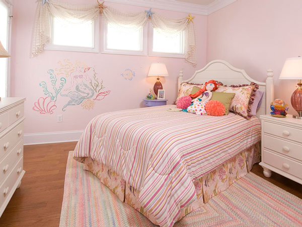 Dreamy Pastel Girly Bedroom