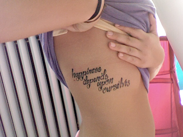 Life Quote TattooQuotes About Life And Love Tattoos