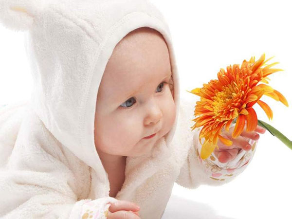 baby flower 25 Excellent Newborn Picture Ideas