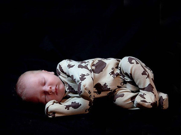 tiger baby 25 Excellent Newborn Picture Ideas