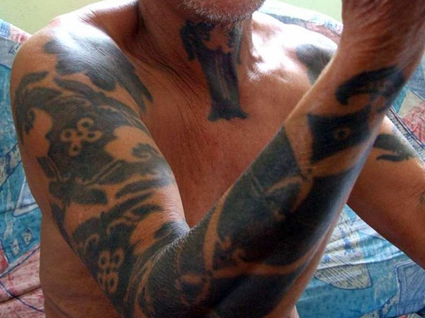 elderly gentlemen 30 Remarkable Old People With Tattoos
