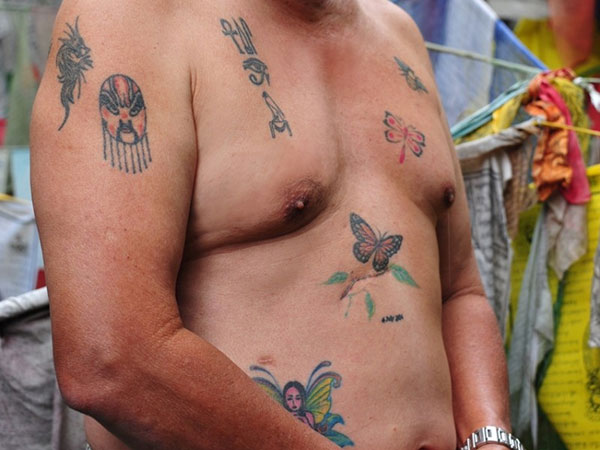 old people with tattoos 30 Remarkable Old People With Tattoos