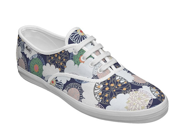 Flower Theme Shoes