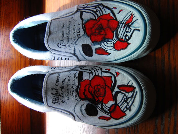 Rose Theme Shoes