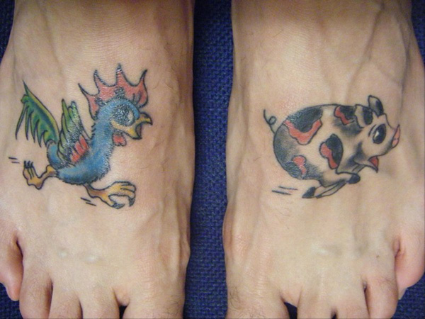Run Pig Run Tattoo