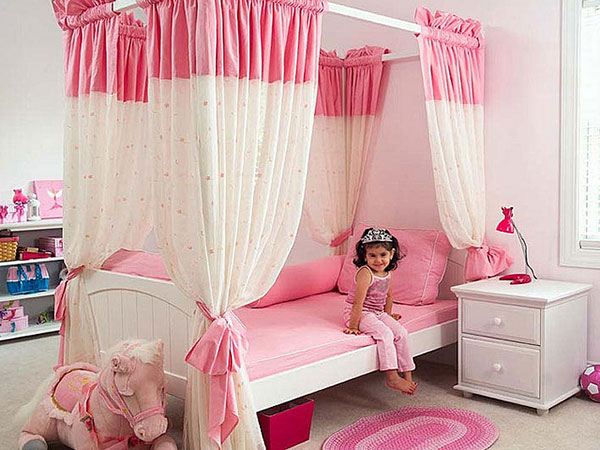 Princess Pink Bedroom