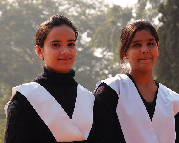 Pretty Indian Schoolgirls