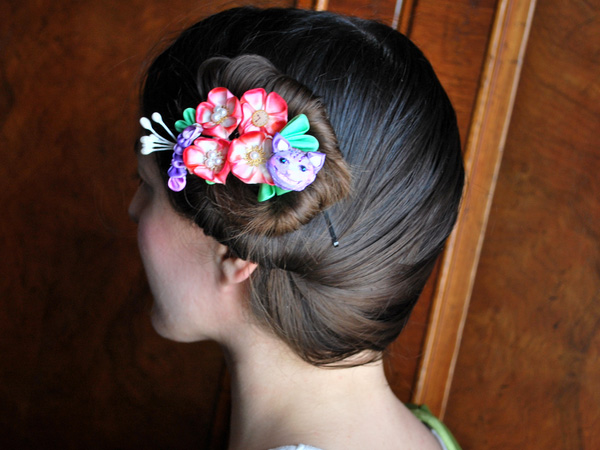Spring Fresh Natural Bun Updo