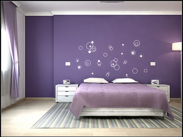 mauve and purple - Bedroom Ideas With Purple