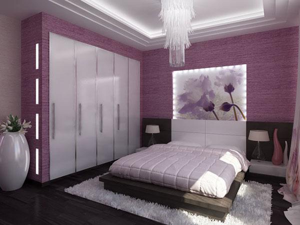 Purple Bedroom Ideas. Stark White And Purple 25 Impossible Bedroom Ideas  SloDive