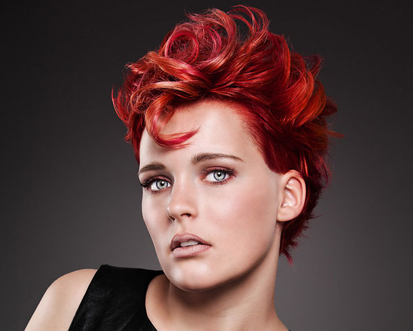 lady redhair 25 Stunning Red Hair Color Ideas