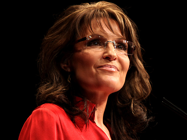 Closeup Sarah Palin