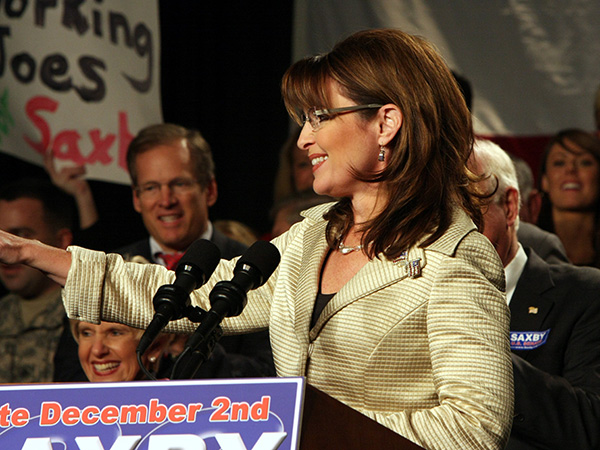 sarah palin chambliss rally 30 Sexy Sarah Palin Pictures
