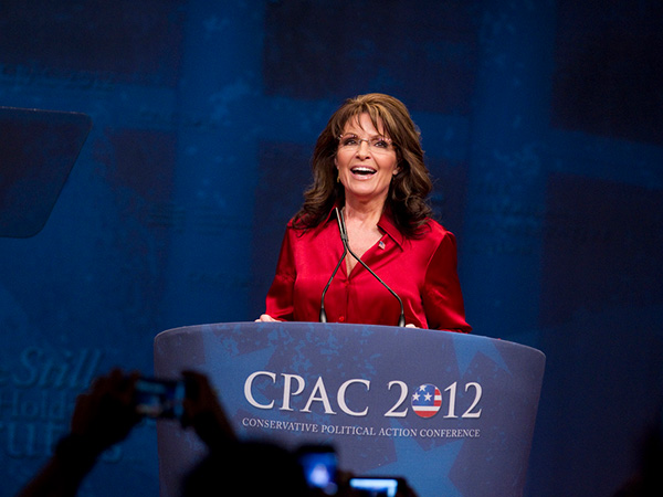 sarah palin speaking 30 Sexy Sarah Palin Pictures